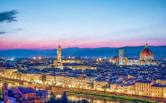 Do Florencie z Hotelu Villa Rita ***+ dojedete za 45 minut
