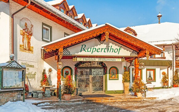 Hotel Rupertihof v Bavorsku (Německo) blízko Salzburgu