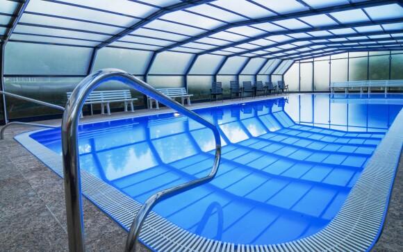 Užite si oddych v bazéne, v saunách aj vírivke