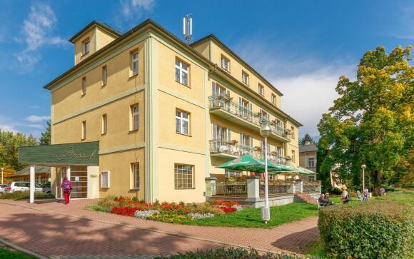 Hotel Jirásek *** v Konstantinových Lázňach, Západné Čechy