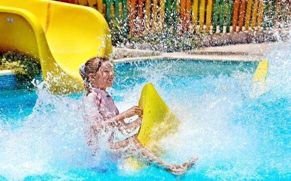 Aquapark Turčianske Teplice, bazén, tobogán, děti