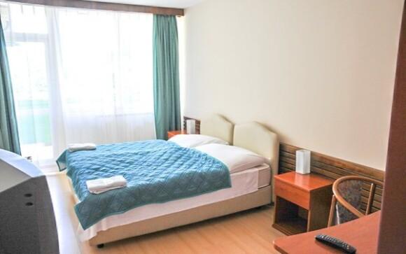 Dvojlôžková izba v Park Hoteli *** Miskolc Tapolca