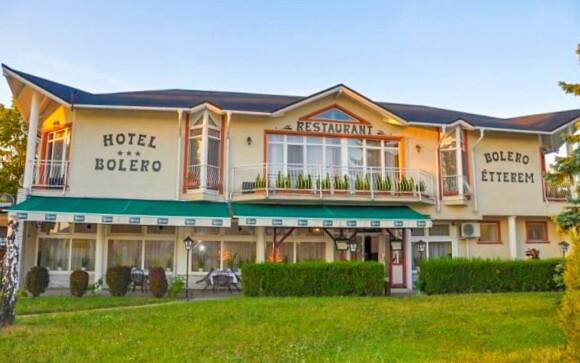 Hotel Bolero *** stojí v lázeňském městě Győr
