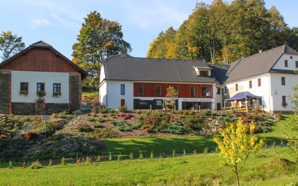Relax Pension Schönwald *** na bývalém statku, Oderské vrchy