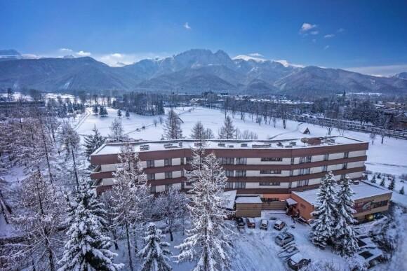 Užite si zimnú dovolenku v Hoteli Helios **