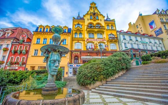 Vychutnajte si kúpeľnú atmosféru Karlových Varov