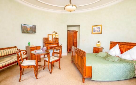 Luxusná izba De Luxe, Hotel Pałac Paulinum, Poľsko