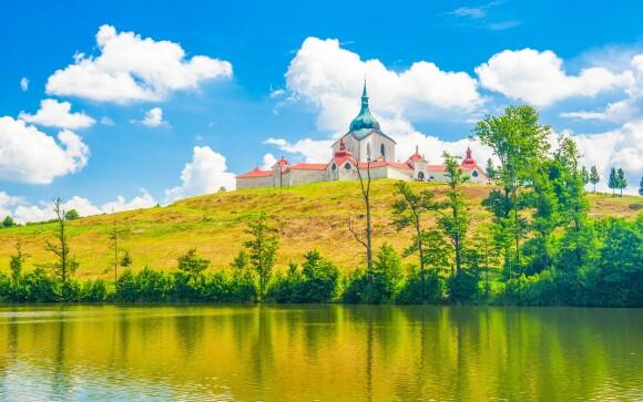 Zelená hora, památka UNESCO, Žďár nad Sázavou