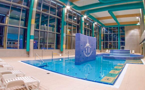 Relaxační centrum s bazény a saunami, Žďár nad Sázavou