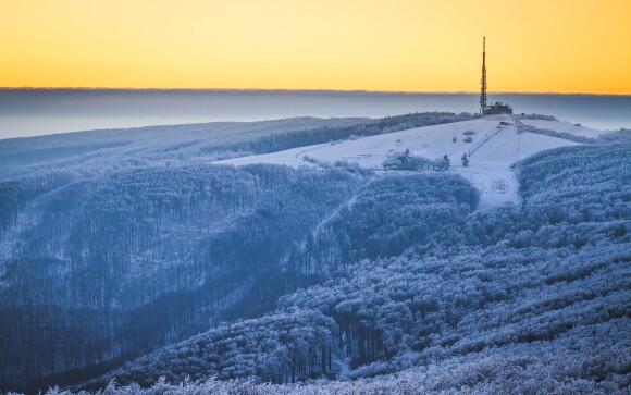 Bílé Karpaty se v zimě mění na ráj zimních sportů