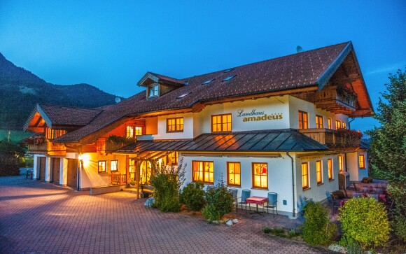 Hotel Landhaus Amadeus **** vás okouzlí venkovským stylem
