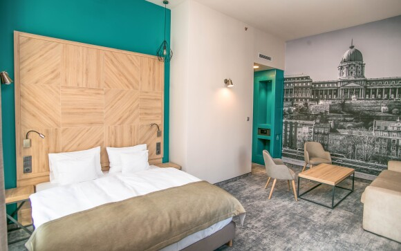 Komfortní pokoj, hotel T62 ***. Maďarsko, Budapešť