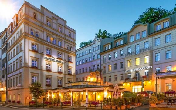 Hotel Růže ****, Karlove Vary