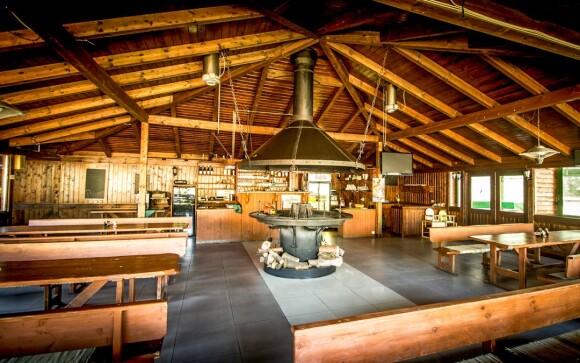 Restaurace, ohniště, Hotel Sázavský ostrov, Sázava