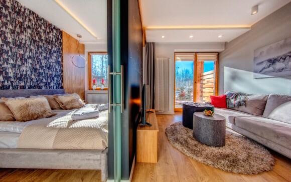 Luxusní apartmán, Aparthotel Giewont ***, Zakopane