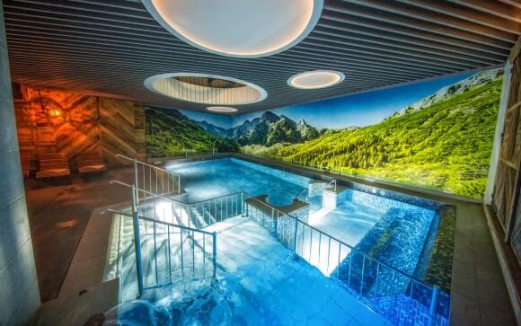 Prepychové wellness, bazén, Aparthotel Giewont ***, Zakopane