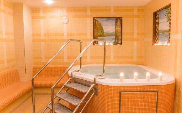 Wellness, vírivka, Hotel Amarilis ****, Praha
