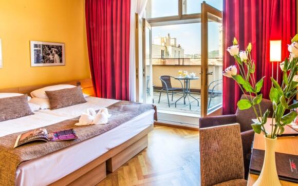 Luxusné izby, Hotel Amarilis ****, Praha