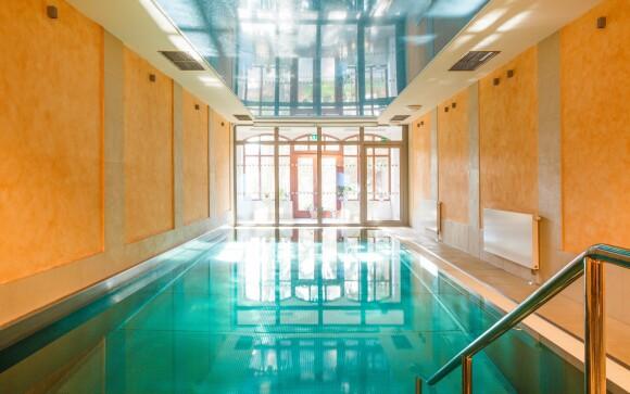 Wellness, bazén, Hotel Smetana ****, Karlove Vary