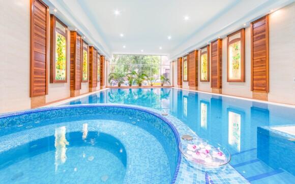 Wellness, Lion's Garden Hotel ****, Budapešť
