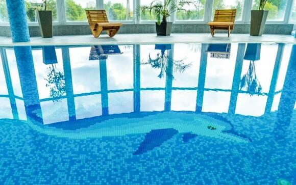 Bazén, wellness, Kristály Hotel Ajka ****, Maďarsko