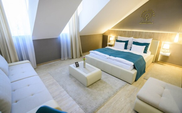 Izby Superior vás nadchnú, Hotel Tiliana **** v Budapešti