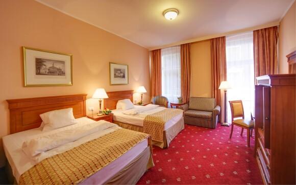 Twin pokoj, SPA Hotel Lauretta ****, Karlovy Vary