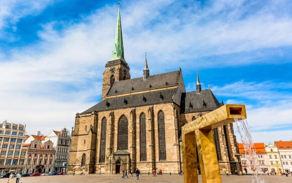 Impozantní katedrála sv. Bartoloměje