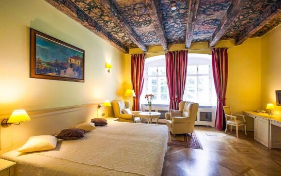 Trojlôžková izba, Hotel Tyn Yard Residence ****, Praha