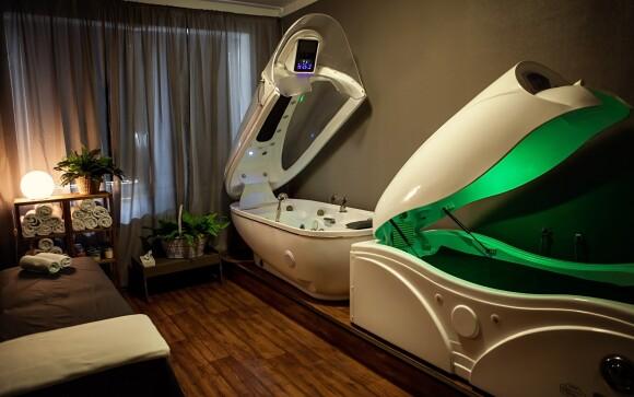 Vo wellness centre nájdete vírivku, saunu aj solárium