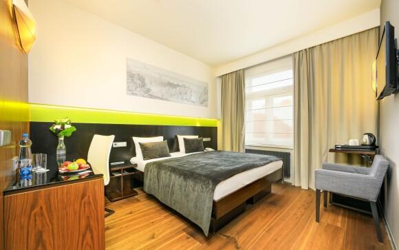 Luxusní pokoj Deluxe za příplatek, Hotel Ametyst ****, Praha