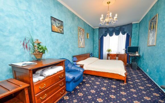 Izba Deluxe, Brioni Boutique Hotel ****, Ostrava