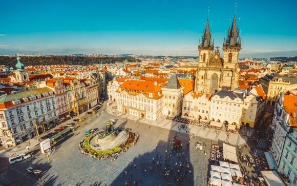 Praha je plná výhľadov, ktoré neomrzia