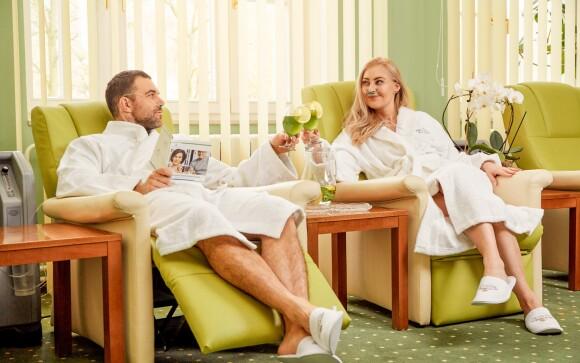 V hoteli si vychutnáte aj mnoho liečebných procedúr