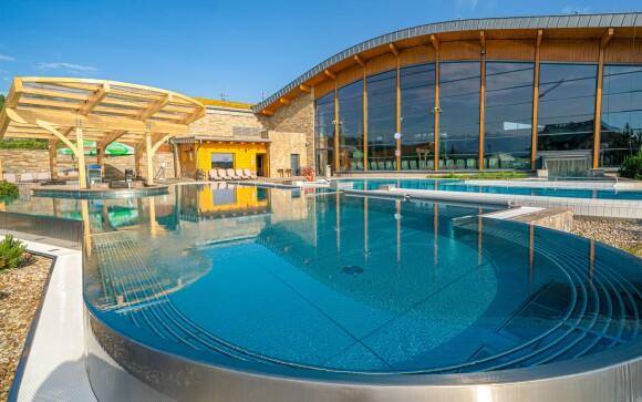 Aquapark Terma Bania malý kousek od hotelu