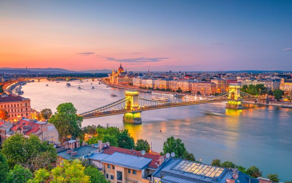Budapešť, hlavní město Maďarska