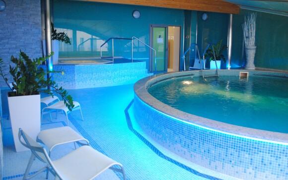 Bazén v Hoteli Venus ****