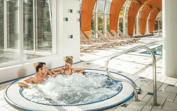 Vířivka, Spa & Wellness ve Spa Resortu Sanssouci ****