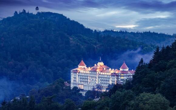 Hotel Imperial ***** vypadá jako zámek