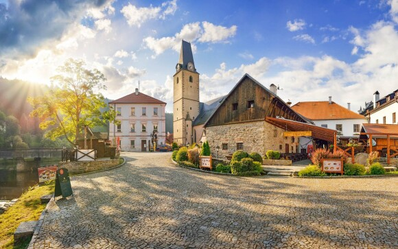 Hotel u Martina *** přímo pod hradem Rožmberk Jižní Čechy