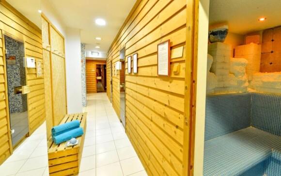 Wellness v partnerském Hotelu Írottkő ***