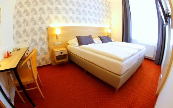 Dvoulůžkový pokoj, Hotel Flora ***