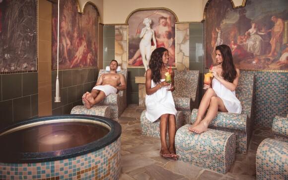 Jedinečné luxusní wellness centrum je součástí hotelu