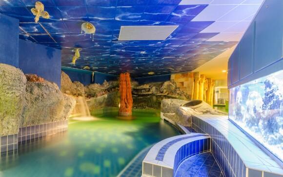 Termálne kúpele prepojené s Hunguest Hotelom Aqua-Sol ***