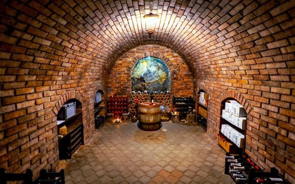 Vinný sklípek, víno, Hotel Weiss, Lechovice, jižní Morava