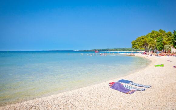 Jaderské moře, Istrie, Chorvatsko
