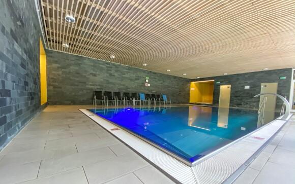 Wellness centrum s bazénem, Hotel SKI ***