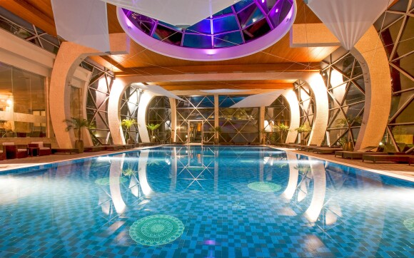 Přepychové wellness, Spirit Hotel Thermal Spa Sárvár *****