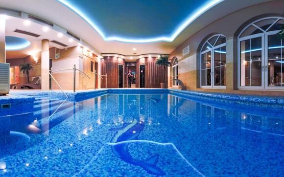 Wellness v hoteli, Xavin Hotel Harkány ****