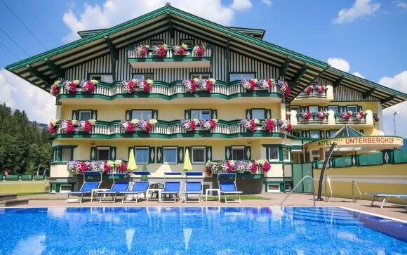 Hotel Unterberghof **** stojí v rakouských Alpách